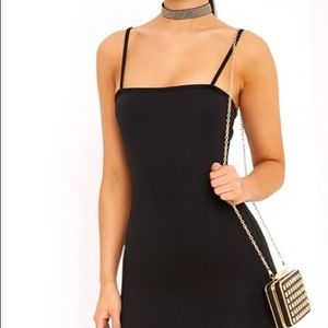 Bodycon Straight Neckline